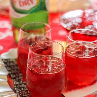 Cranberry Lemonade Ginger Ale Punch Recipes