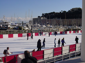 Photo: Outdoor rinks are popular at this time of year in Europe. (We'll see several in Paris.)