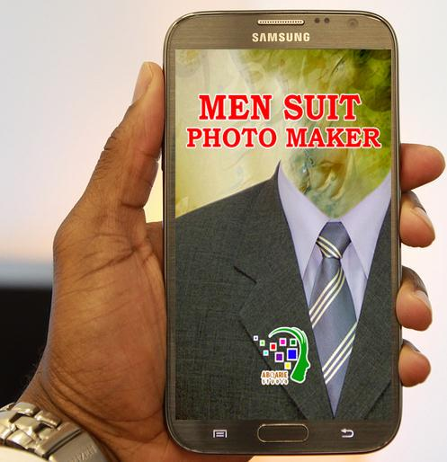 Men Suit Photo Maker- screenshot