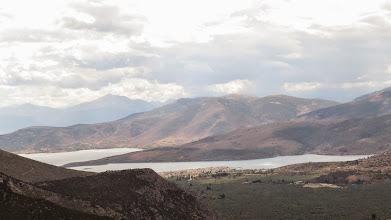 Photo: The Gulf of Corinth from Delphi.