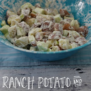 Easy Recipe for Ranch Potato and Cucumber Salad