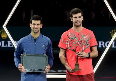 Classement ATP: Djoko reprend le trône, belle percée de Khachanov, Goffin en chute libre