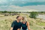 📷 Dries Mertens - met schouder in het verband - geniet van de Afrikaanse vlaktes