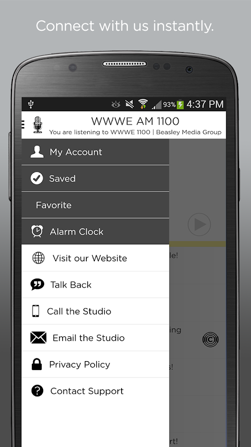 WWWE AM 1100- screenshot