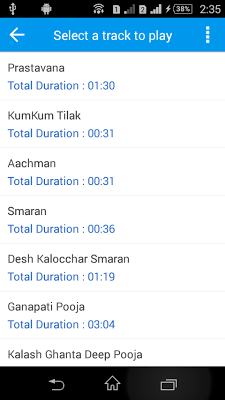 Rudra Abhishek Mantra Audio - screenshot