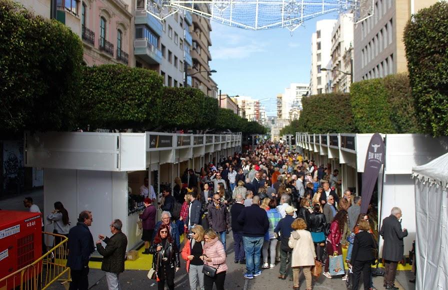 Éxito de público y ventas de Sabores de Almería.