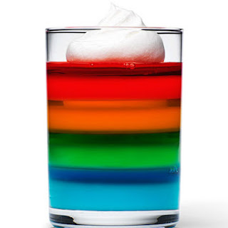 JELL-O Rainbow Cups