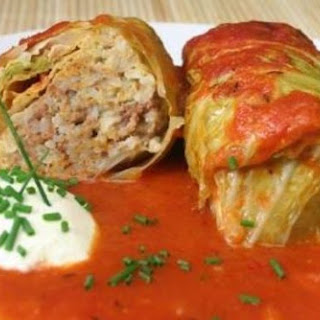 BEEF CABBAGE ROLLS
