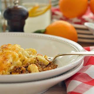Italian Macaroni and Cheese.