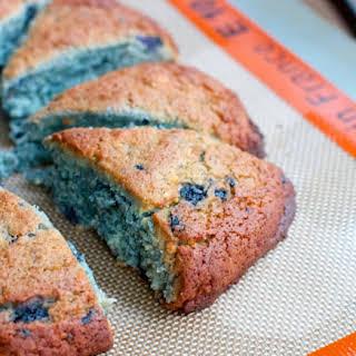 Gluten-free Wild Blueberry Scones (Sponsored Recipe ReDux).