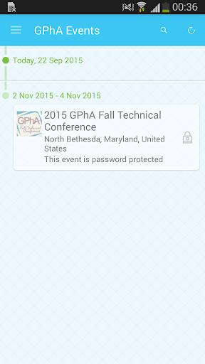 GPhA Events