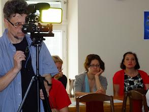 Photo: Konferencijos akimirka.  Filmuoja Gintautas Stungurys, studija Gin-Dia.