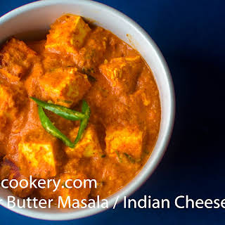 Paneer Butter Masala / Indian Cheese Curry.