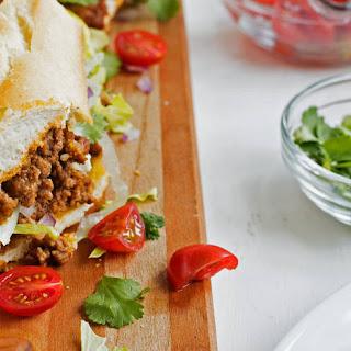 Easy Taco-Stuffed Party Sub
