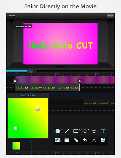 Cute CUT - Editor de video screenshot 11