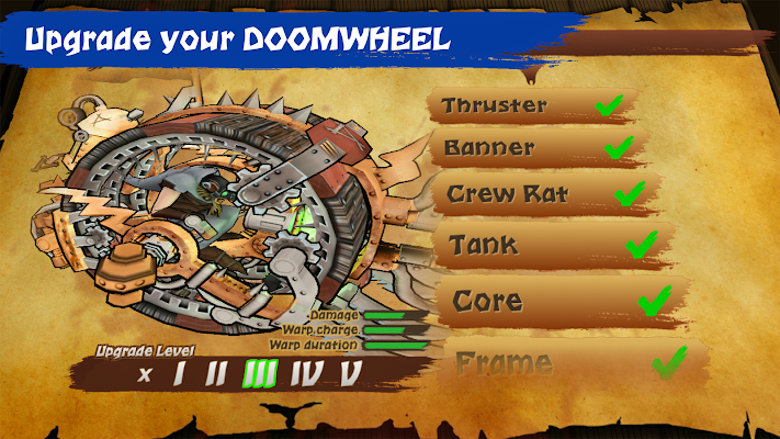 Doomwheel- screenshot