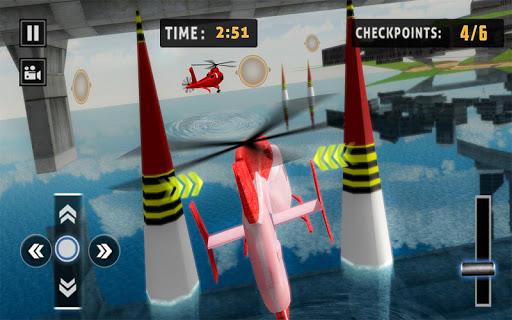 Flying Helicopter Simulator 2019: Heli Racer 3D 1.0.3 screenshots 8