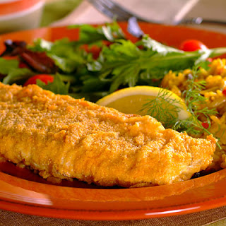 Oven-Fried Fish.