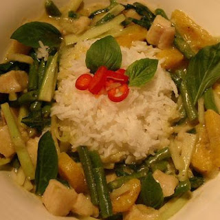 Green Banana Curry