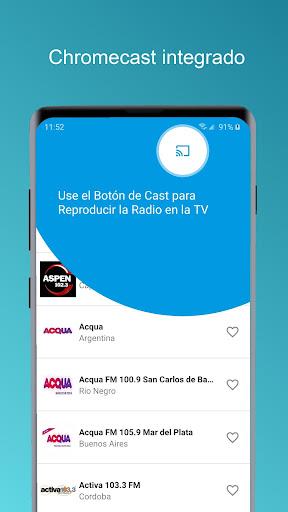 radio argentina - chromecast and recorder stations screenshot 3
