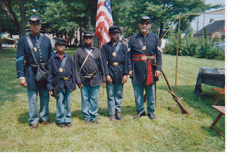 Photo: 6th Regiment USCT Troopers and cadets