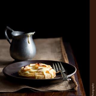 Apple Tarts with Chai-Spiced Custard Sauce Recipe