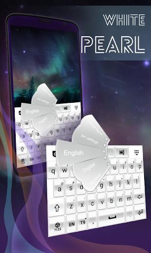 白珍珠键盘