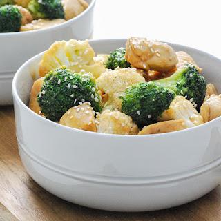 Quick & Easy Soy Honey Chicken w/ Broccoli