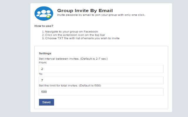 Group Invite By Email Chrome Web Store