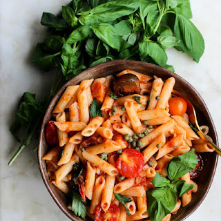 One Pot Vegan Pasta & Marinara Sauce