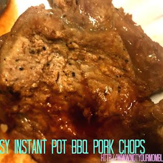 Easy Instant Pot BBQ Pork Chops - #Recipe Recipe
