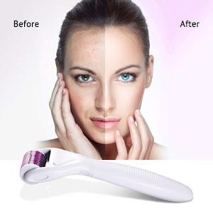 Set facial DermaRoller, masaj si regenerare faciala
