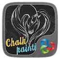 Chalk Painting Go Launcher Theme icon