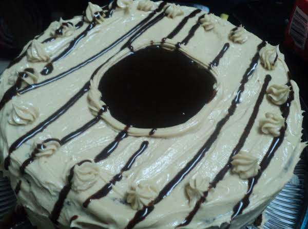 Nutella The Truth Cake W/ Peanut Butter Cream Frosting Recipe