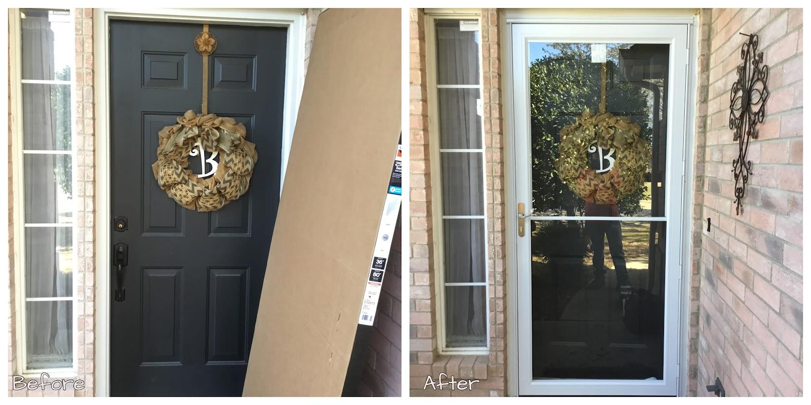 Handyman Melissa front door installation and repair.