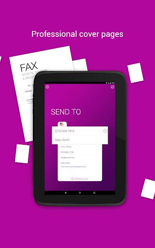 Tiny Fax - Send Fax from Phone Screenshot