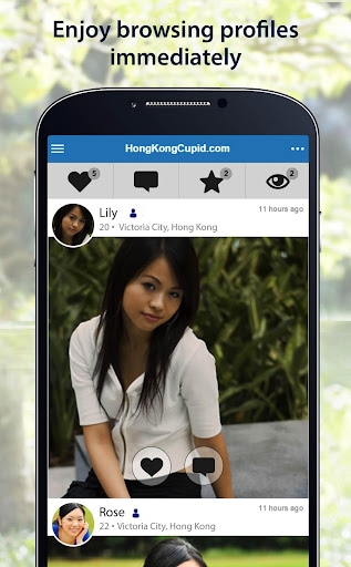 HongKongCupid - Hong Kong Dating App 2.3.9.1937 screenshots 2