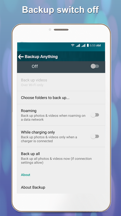 Backup Recovery Backup Anything :Data Recovery App- screenshot
