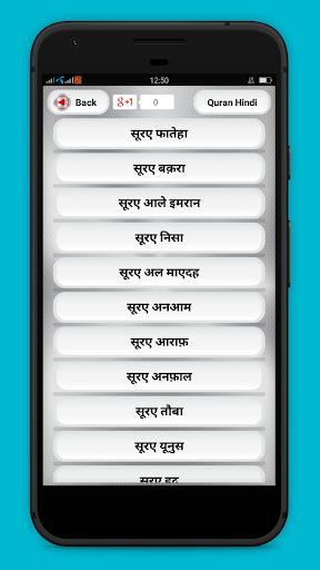 Hindi Quran Translations पवित्र कुरान हिंदी अनुवाद screenshot 12