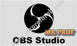 تحميل افضل برنامج سكرين شوت للكمبيوتر برنامج OBS Studio مع امكانية بث مباشر للألعاب من رابط واحد مباشر