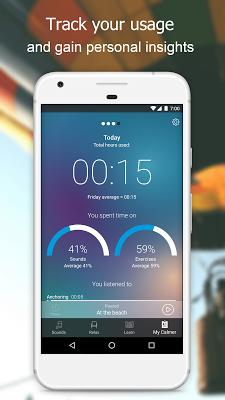 Beltone Tinnitus Calmer - screenshot