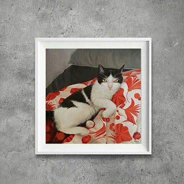 "8""x8"" 絨面相紙 Art prints The bed is mine!!! ❤"