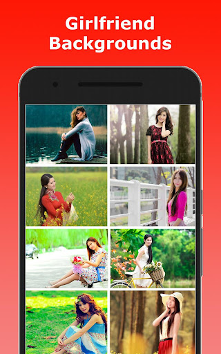 Girlfriend Photo Editor - Girlfriend Photo Frames screenshot