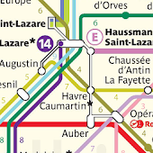 Plan du Métro: Paris