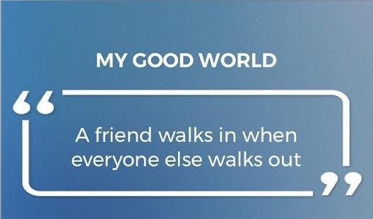 My Good World App - náhled