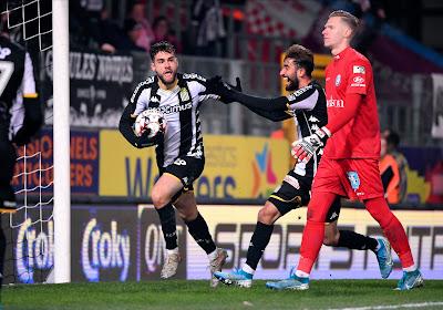 Massimo Bruno scoorde het enige doelpunt uit de wedstrijd tegen AA Gent