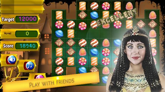 Cleopatra Pyramid Match 3 screenshot