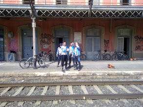 Photo: Esperando al tren