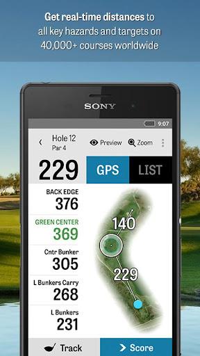 Golf Pad GPS - golf GPS rangefinder, scorecard and club tracker ...