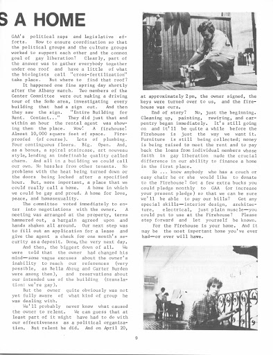 Gay Activists Alliance Newsletter May 1971 p6 — Google Arts & Culture
